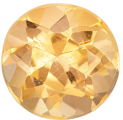 Loose Precious Topaz Gemstone, Round Cut, 0.72 carats, 5.5 mm , AfricaGems Certified - A Magnificent Gem