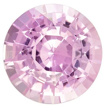 Loose Pink Sapphire Round Shaped Gem, No Heat with GIA Cert, 2.49 carats, 8.31 x 8.25 x 5.15 mm - Super Great Buy