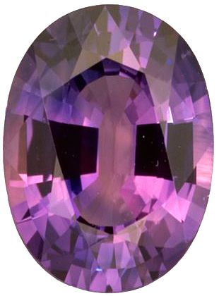 Lovely Oval Cut Purple Sapphire Natural Gemstone for SALE, Oval Cut, 2.53 carats