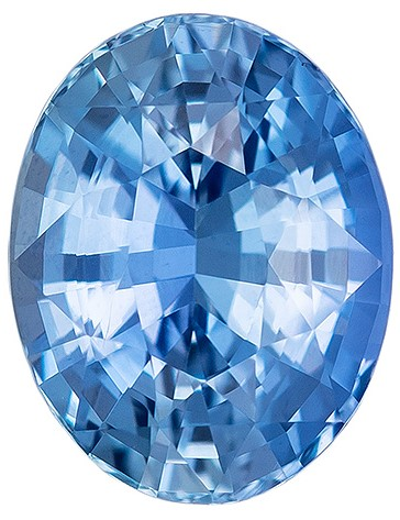 Low Price   Blue Green Sapphire Genuine Gemstone, 2.05 carats, Oval Shape, 8.1 x 6.4 mm