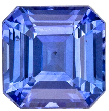 Low Price Blue Sapphire Gemstone, 1.06 carats, Emerald Shape, 5.3 mm, Super Great Buy