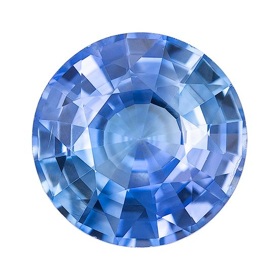 Low Price on Blue Sapphire Round Shaped Gemstone, 0.83 carats, 5.9mm - Super Great Buy