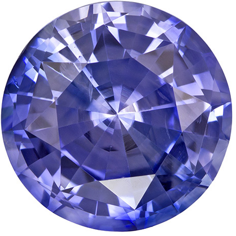 Low Price on Gem Round Cut Blue Sapphire in Vivid Cornflower Blue, 7.3 mm, 1.98 carats - SOLD