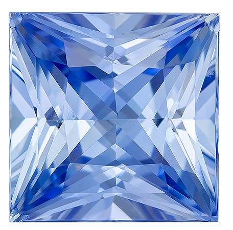 Low Price on Top Gem  Princess Cut Loose Blue Sapphire Gemstone, 4.57 carats, 8.8 x 8.8 mm , Great Ring Gemstone