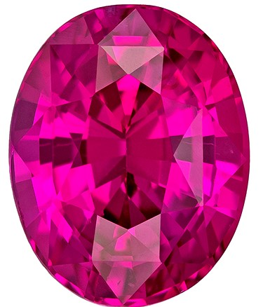 Magnificent Gem  Oval Cut Faceted Pink Sapphire Gemstone, 1.81 carats, 7.9 x 6.2 mm , A Great Deal