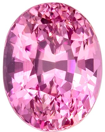 Super Gem - Extraordinary Fine  Pink Sapphire Genuine Gemstone, 4.78 carats, Oval Shape, 10.57 x 8.12 x 6.71 mm  with GIA Certificate