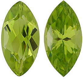 <b>Peridot Marquise Cut - Calibrated</b>