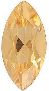 Marquise Cut Genuine Citrine in Grade A