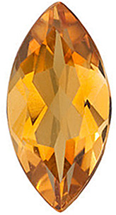 Marquise Cut Genuine Citrine in Grade AA