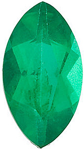 Marquise Cut Genuine Emerald in Grade AA