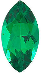 Marquise Cut Genuine Emerald in Grade AAA