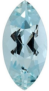 Marquise Shape Aquamarine Real Quality Gemstone Grade B 0.075 carats,  4.00 x 2.00 mm in Size