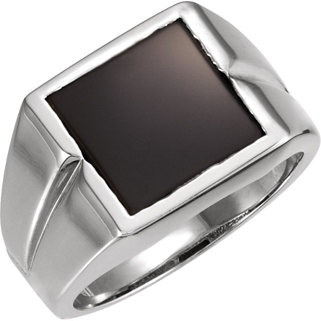 Fine Quality Men's Solitaire Ring