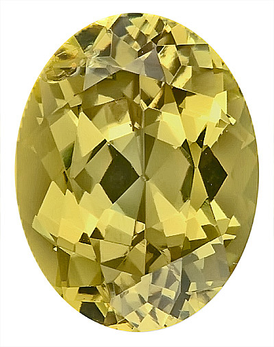 Mesmerizing Unheated Yellow Grossular Garnet Gem for SALE, Oval Cut, 11.2 x 8.6 mm, 4.28 carats