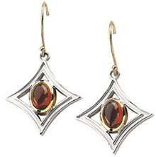 Mozambique Garnet Earrings