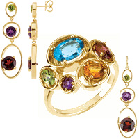Multi Gem Jewelry