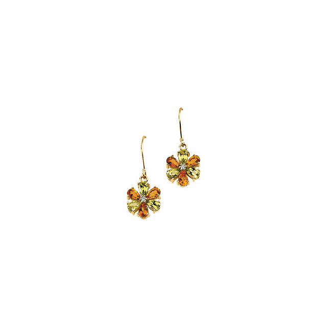 Chic Floral Earrings
