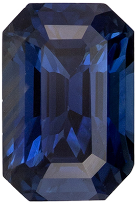 Must See Gemstone Blue Green Sapphire Radiant  No Heat  Cut, 2.66 carats, 9.4 x 6.3 mm