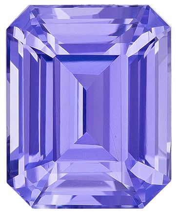 Must See Purple Sapphire Emerald Shaped Gem No Heat wth GIA, 1.68 carats, 7.19 x 5.82 x 3.94 mm - Super Great Buy