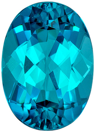 Natural Blue Tourmaline 2 carats, Oval shape gemstone, 9.3 x 6.7  mm