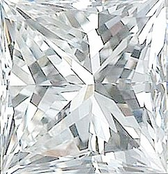 Natural Diamond Melee, Princess Shape, G-H Color - VS Clarity, 1.50 mm in Size, 0.03 Carats