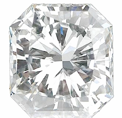 Natural Diamond Melee, Radiant Shape, G-H Color - VS Clarity, 3.00 x 2.40 mm in Size, 0.1 Carats