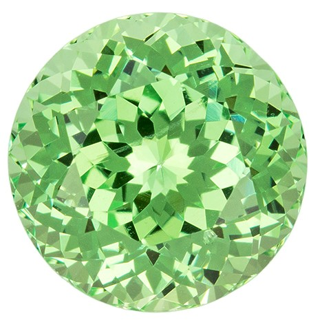 Mint Green Garnet Gemstone, Round Cut, 2.36 carats, 7.8 mm , AfricaGems Certified - A Wonderful Find!