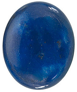 Natural Lapis Gem, Oval Shape, Grade AA, 14.00 x 10.00 mm in Size