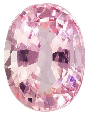 Natural Padparadscha Sapphire Gemstone, Oval Cut, 1.14 carats, 7.25 x 5.49 x 3.43 mm , GIA Certified - A Fine Gem
