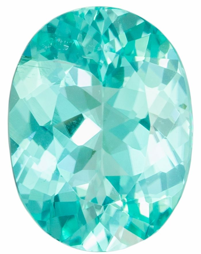 Natural Paraiba Tourmaline 1.82 carats, Oval shape gemstone, 9.62 x 7.27 x 4.18 mm with GRS Cert.