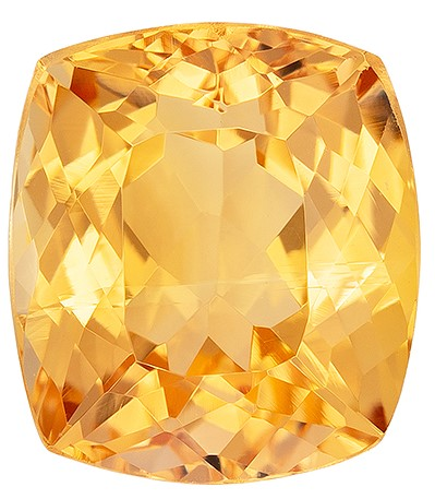 Natural Precious Topaz Gemstone, Cushion Cut, 2.47 carats, 8.1 x 7.2 mm , AfricaGems Certified - A Great Buy