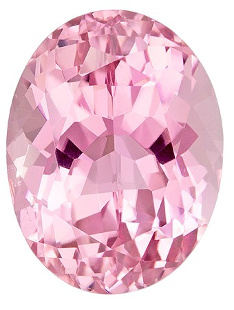 Natural Pink Tourmaline Gemstone, Oval Cut, 4.91 carats, 12 x 9.2 mm , AfricaGems Certified - A Gem of A Deal