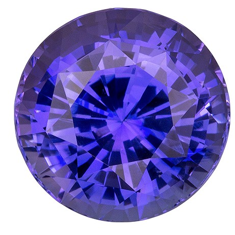 Rare Purple Sapphire Gemstone, Round Cut, 5.06 carats, 9.71 x 9.8 x 7.01 mm , GIA Certified - Truly Stunning