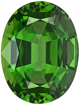 Natural Standard Size Loose Oval Shape Tsavorite Green Garnet Gemstone Grade AAA, 4.00 x 3.00 mm, 0.2 carats