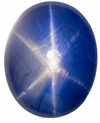 Natural Star Sapphire Gemstone, Oval Cut, 13.48 carats, 13.98 x 11.31 x 7.1 mm , GIA Certified - A Low Price