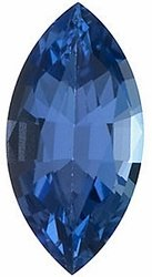 Natural Tanzanite Gemstone, Marquise Shape, Grade AAA, 8.00 x 4.00 mm in Size, 0.6 Carats