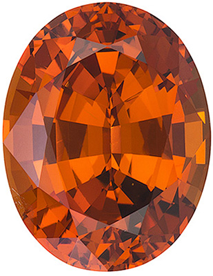 Nigerian Orange Spessartite - For The Most Discriminating Taste, Oval Cut, 7.03 carats
