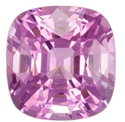 Loose Pink Spinel Gemstone, Cushion Cut, 1.11 carats, 6 x 5.7 mm , AfricaGems Certified - A Beauty of A Gem