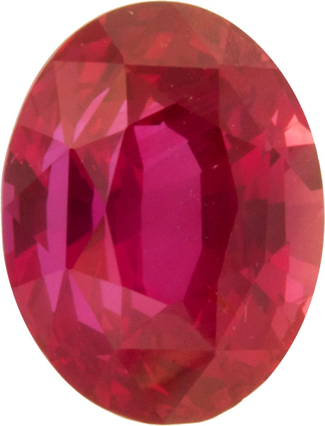 Incredible Gem - No Treatment AGL Certified Reddish Pink Sapphire Gem in Oval Cut, Beautiful Reddish Pink, 4.11 carats