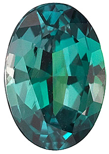 Oval Cut Genuine Alexandrite in Grade AAA