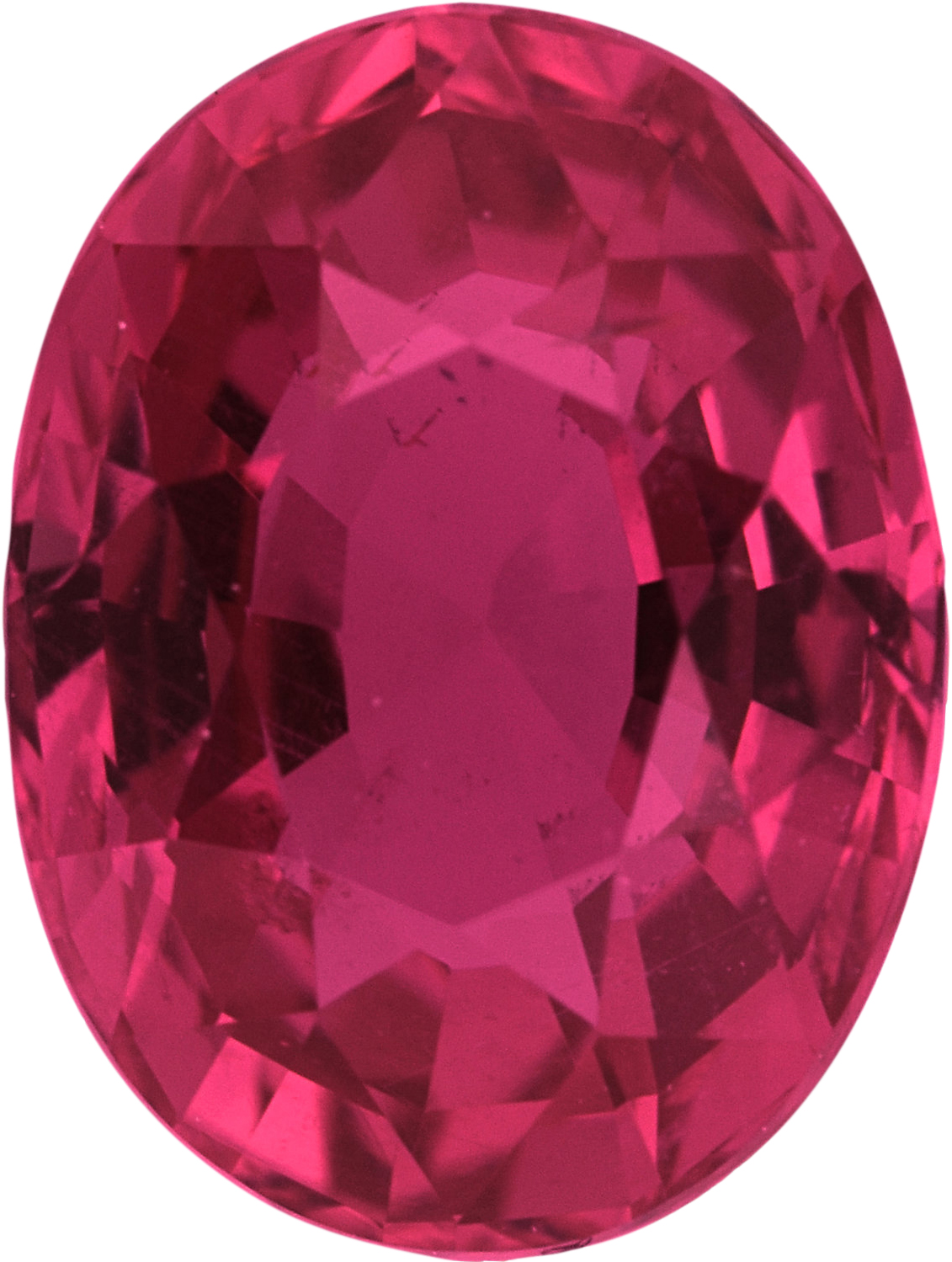 2.02 carats Pink Loose Sapphire Gemstone in Oval Cut, 8.23 x 6.2 mm