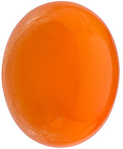 Oval Shape Cabochon Neon Carnelian Real Quality Gemstone Grade AAA   8.00 x 6.00 mm in Size