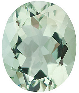 Oval Shape Green Quartz Genuine Quality Loose Faceted Gem Grade AAA, 12.00 x 10.00 mm in Size