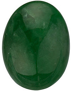 Oval Shape Jadeite Genuine Real FINE, Quality Loose Gemstone Grade AA, 16.00 x 12.00 mm in Size