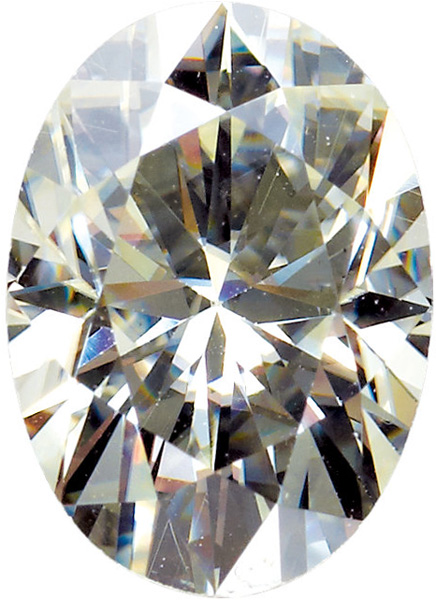 Oval Shape Moissanite Genuine Charles & Colvard Gemstone Grade AAA, 11.00 x 9.00 mm in Size