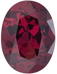 Fine Natural Calibrated Oval Shape Rhodolite Garnet Grade AAA, 10.00 x 8.00 mm in Size, 3.35 carats