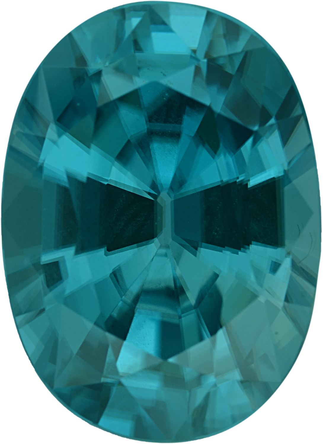 13.12 x 9.5 mm, Zircon Loose Gemstone in Oval Cut, 7.53 carats