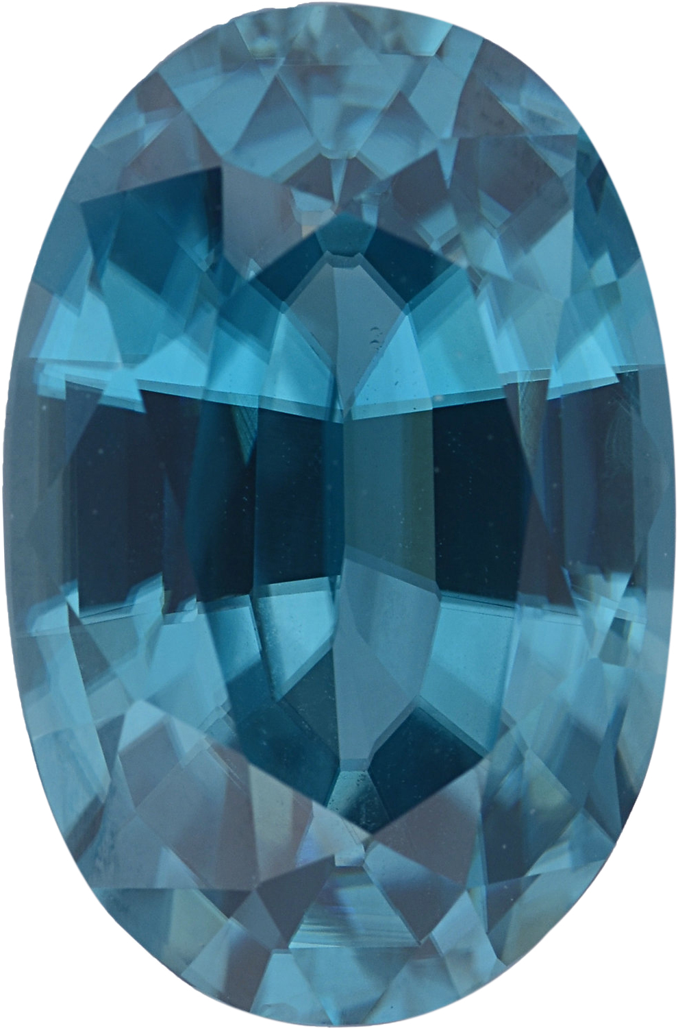 7.42 carats Oval Cut Genuine Zircon Gem, 13.07 x 9.05 mm