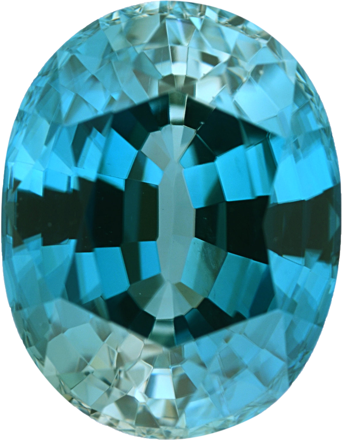 3.18 carats Oval Cut Genuine Zircon Gem, 8.98 x 7.05 mm