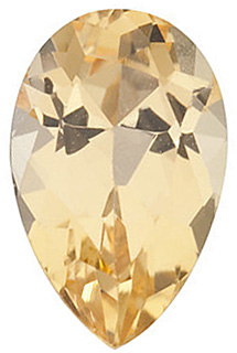 Pear Shape Precious Golden Topaz Natural Quality Loose Cut Gemstone Grade AAA, 8.00 x 5.00 mm in Size